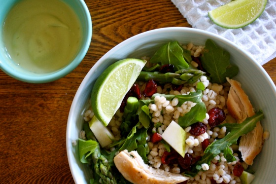 Glowing Grain Salad