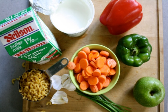 Macaroni Salad Ingredients